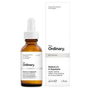 The Ordinary Retinol 1% in Squalane (Tinh chất dưỡng căng da Retinol 1%)