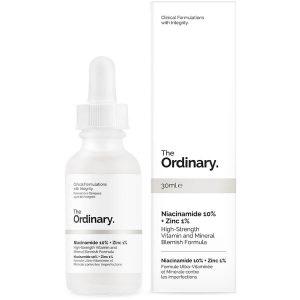 The Ordinary Niacinamide 10% + Zinc 1% (Tinh chất ngừa mụn, trị thâm)