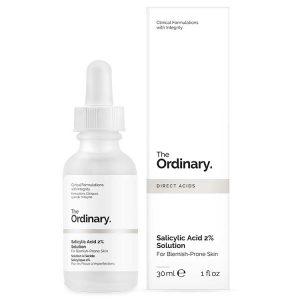The Ordinary Salicylic Acid 2% Solution (Tinh chất điều trị mụn ẩn)